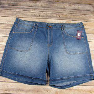 Gloria Vanderbilt Keegan Short Jean Shorts 24W